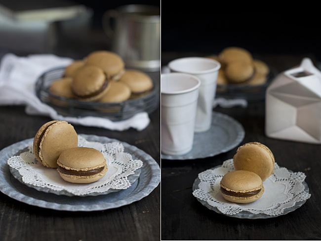 como hacer macarons de caramelo salado