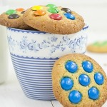 Cookies de M&Ms de chocolate [paso a paso]