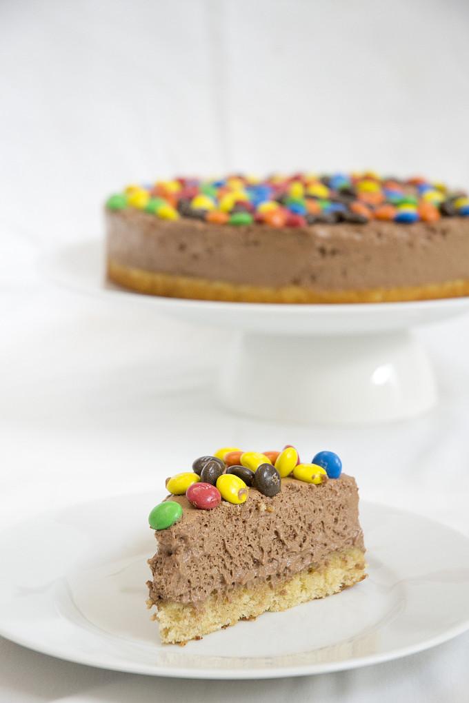 receta de tarta mousse de chocolate