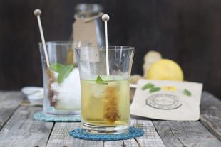 receta de té frío artic ginger