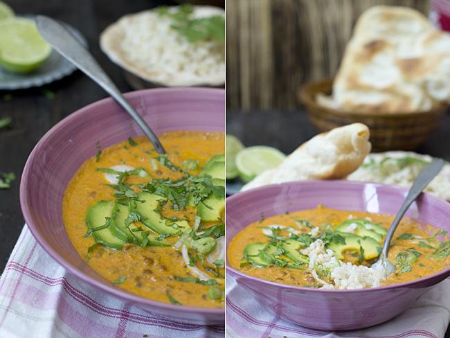 receta de dal makhani