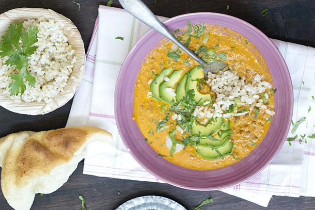 receta de cómo hacer dal mahkani