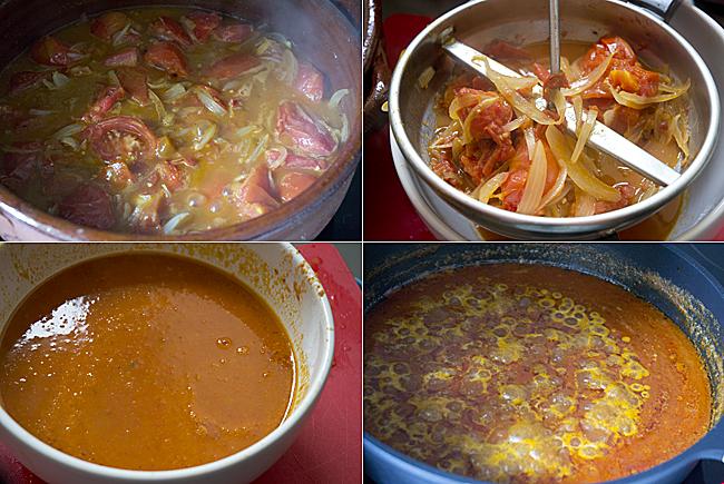 salsa de tomate paso a paso