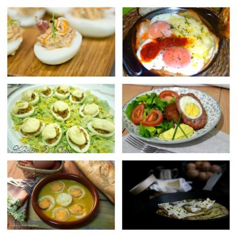 seis recetas con huevos