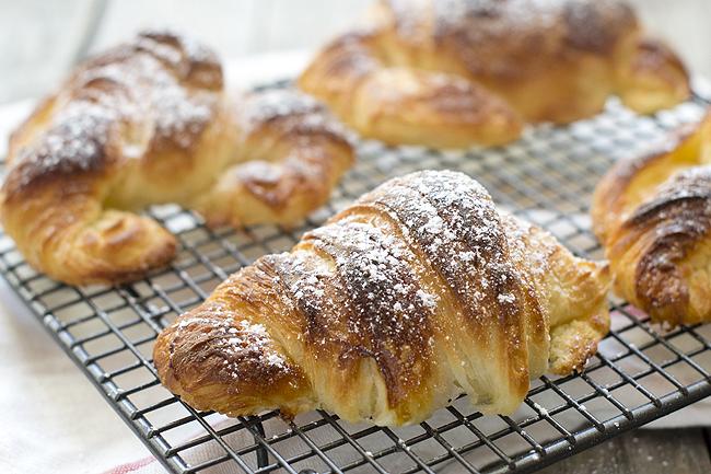 cómo hacer croissants (cruasán)