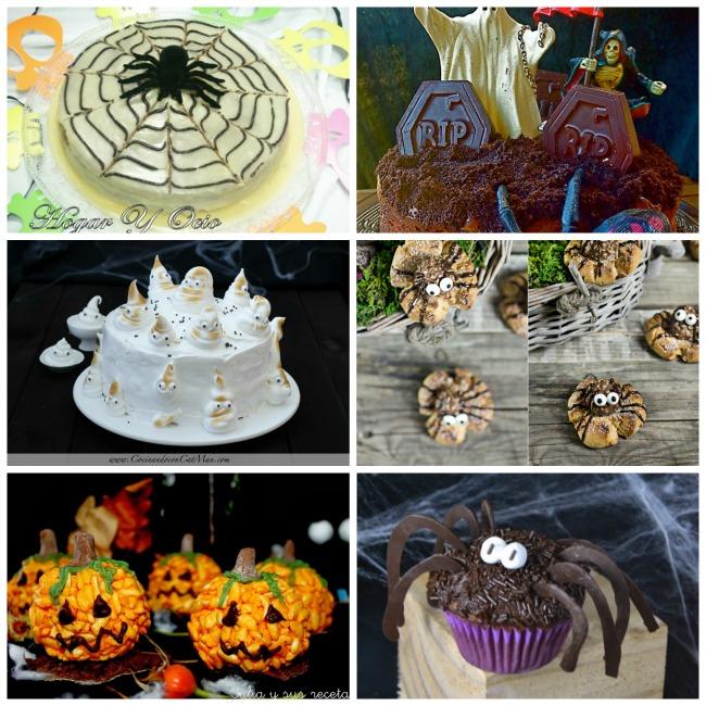 6 recetas dulces para Halloween