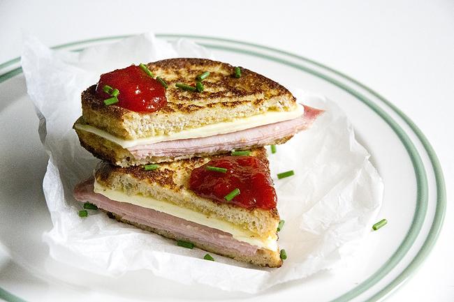 receta de sandwich Monte Cristo