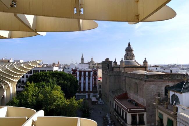 la otra sevilla - las setas de Sevilla
