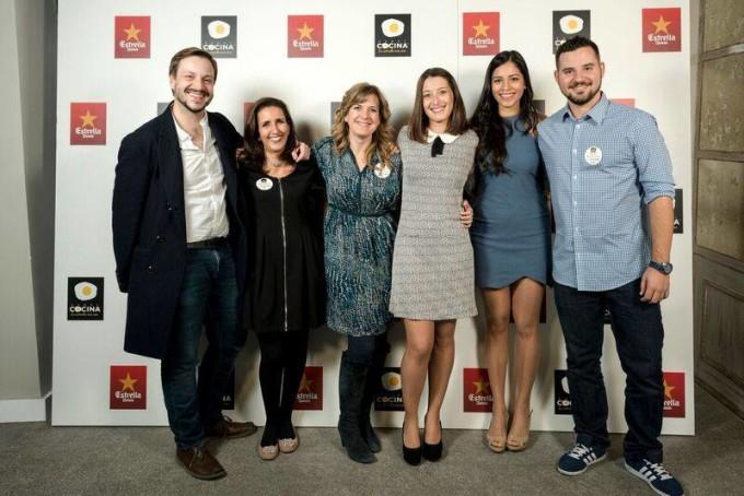 cena blogueros cocineros de canal cocina 2015