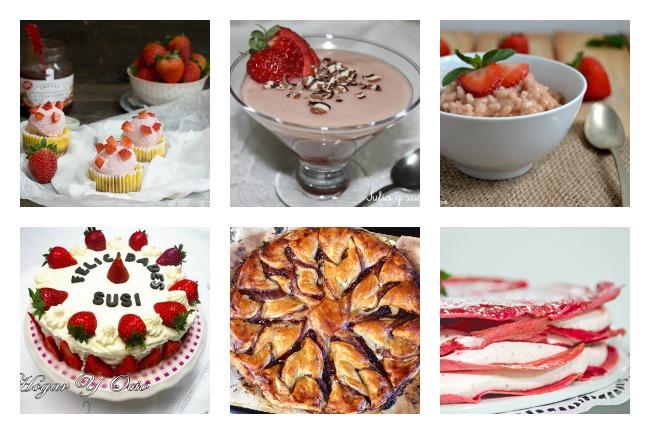 deliciosas recetas con fresas