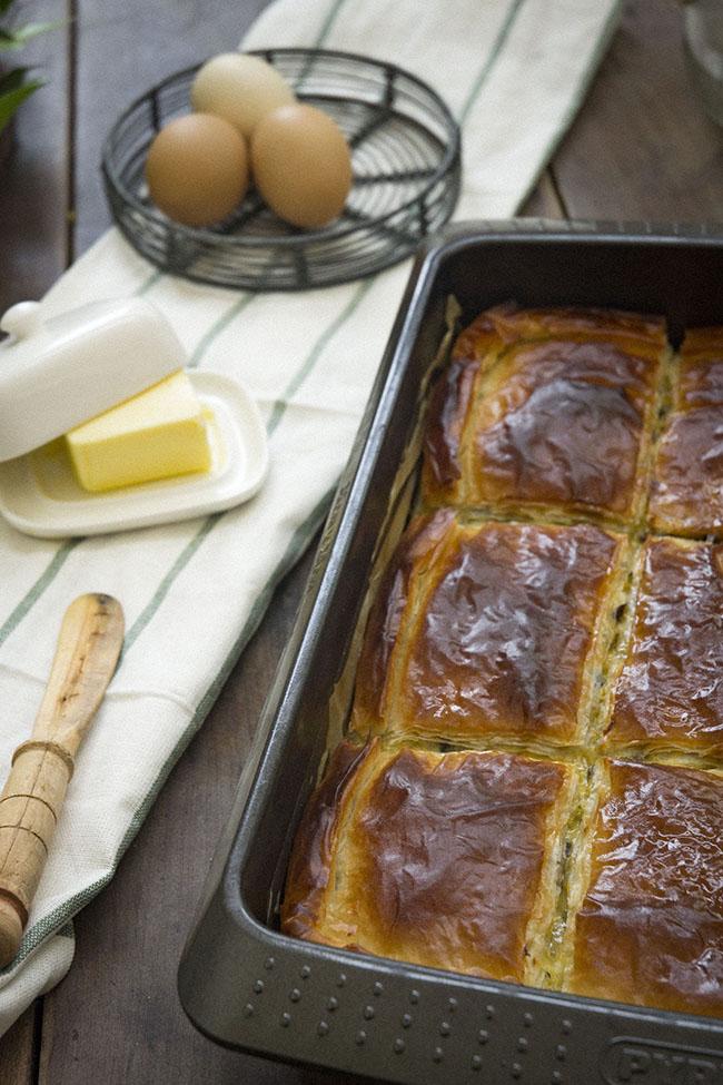pastel griego de berenjenas