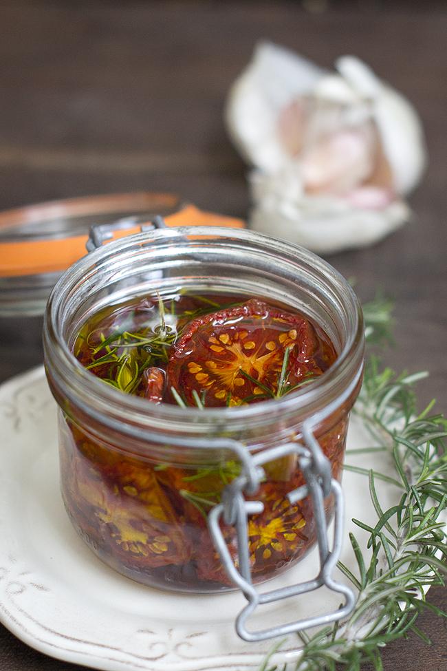 tomate seco en aceite aromatizado P