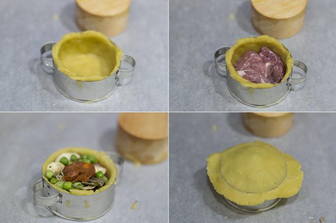 empanadas mallorquinas paso 1