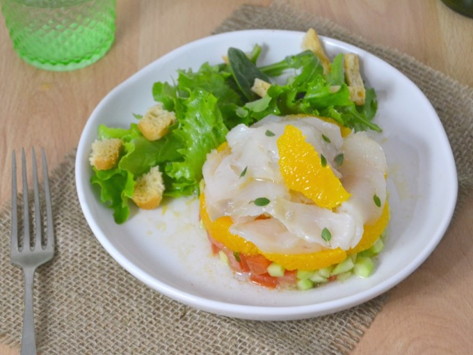 ensalada bacalao ahumado naranja 1