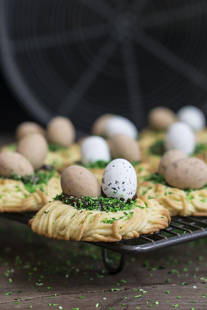 galletas nido de pascua