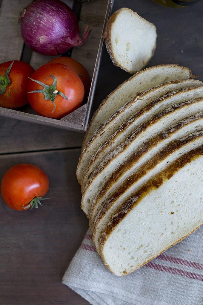 milanesas en tosta rustik bakery bimbo