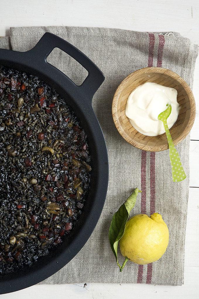 receta de arroz negro con sepia