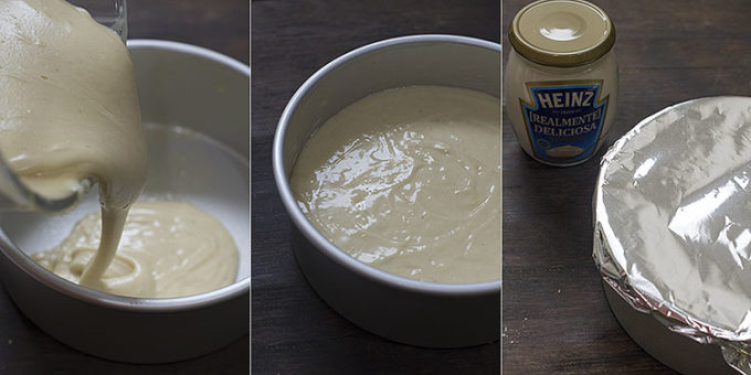 bizcocho de mayonesa