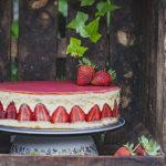 Tarta Fraisier, la mejor tarta de fresas