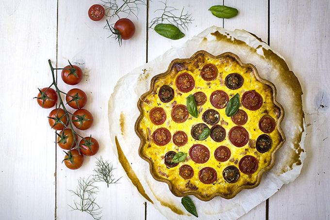 tarta de tomate y mostaza H