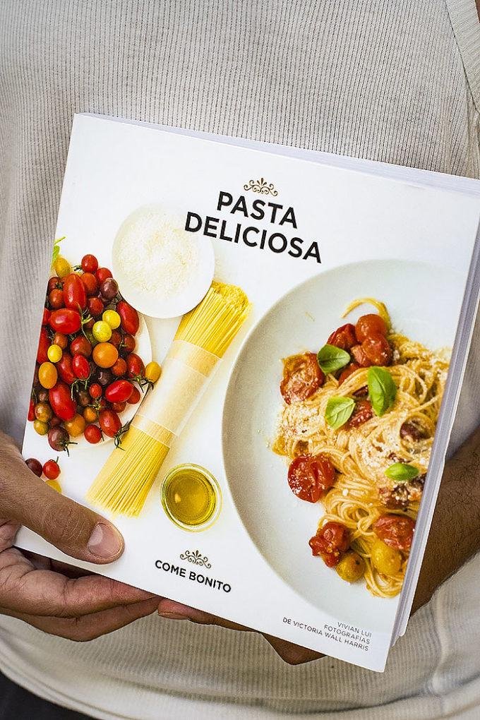 pasta deliciosa, libro de cocina