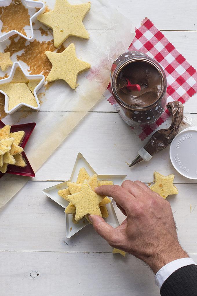 Tarta árbol de Navidad con Nutella®