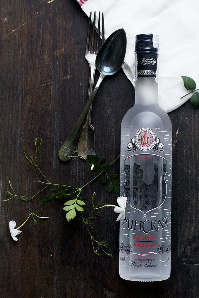 pasta al vodka con almejas