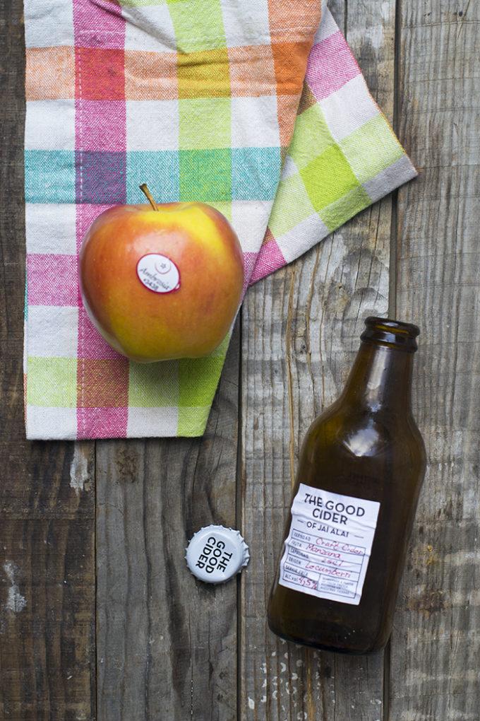 lomo guisado con manzanas