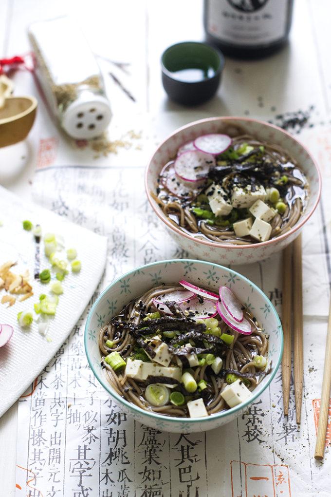 toshikoshi soba, sopa japonesa de año nuevo
