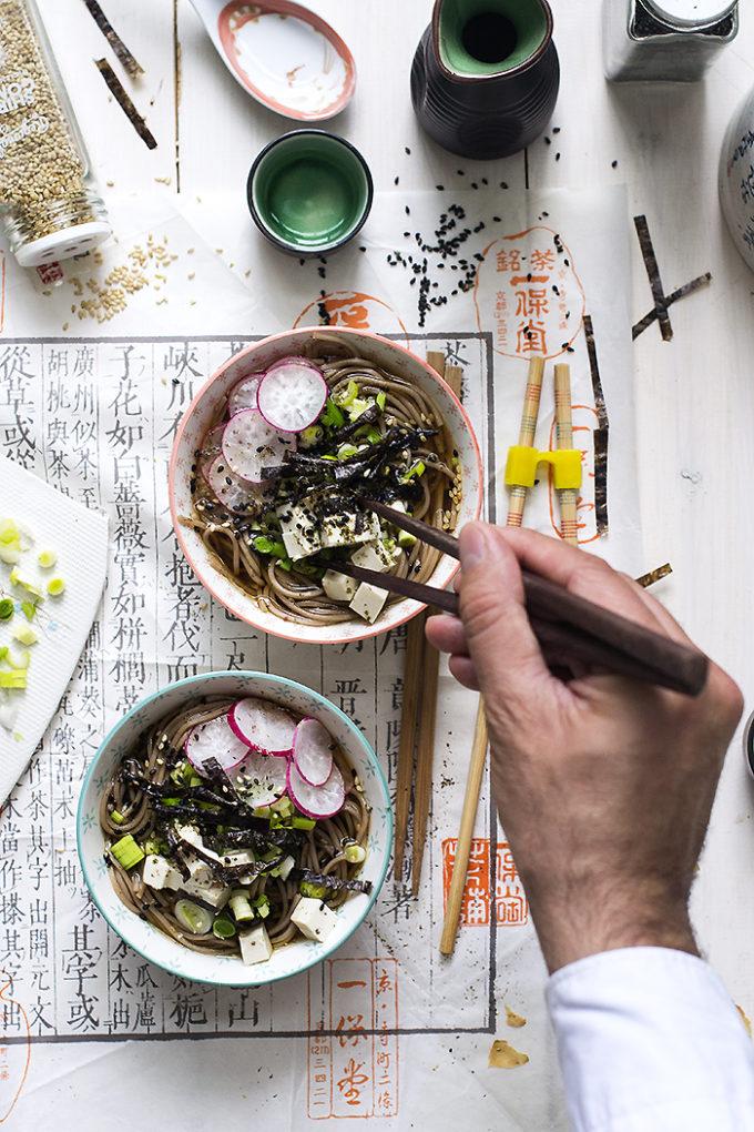 toshikoshi soba [sopa japonesa de año nuevo]