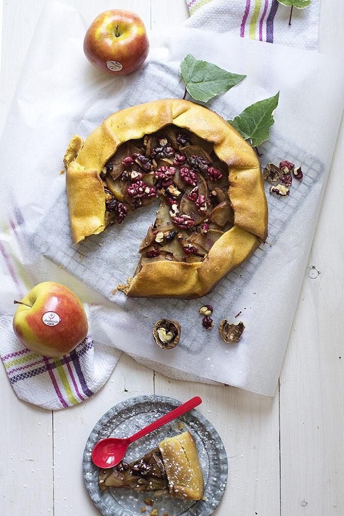galette de manzana, la mejor receta