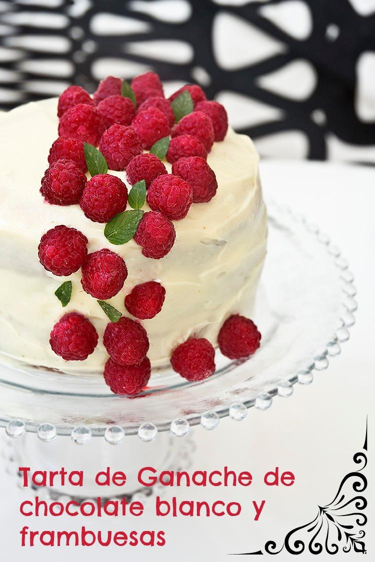 como hacer tarta de chocolate blanco casera