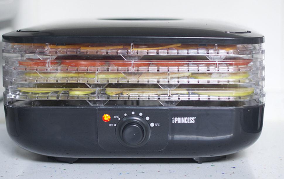 como hacer fruta deshidratada en horno